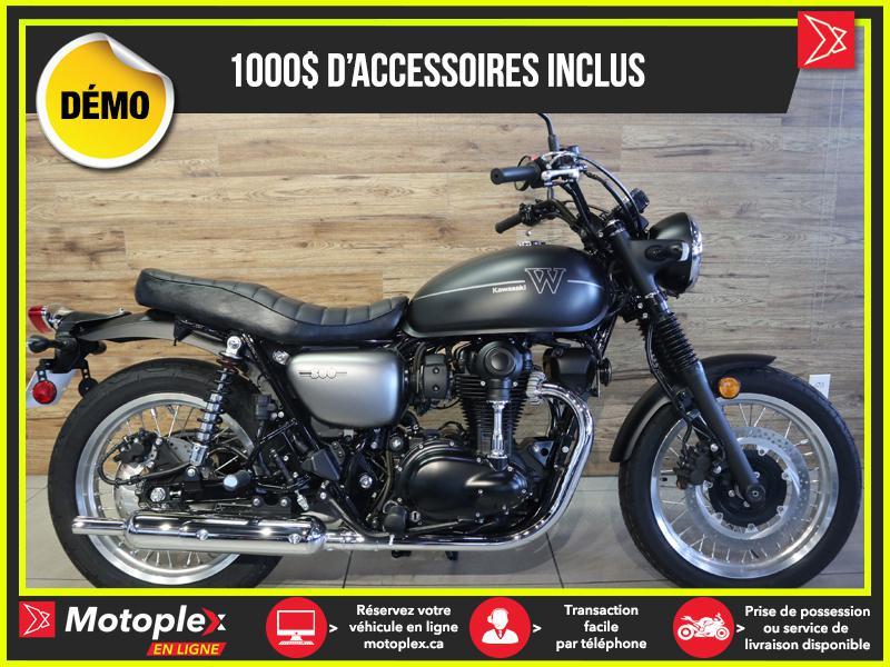 2020 Kawasaki W800 STREET DEMO – 451 KM - 30$/SEMAINE