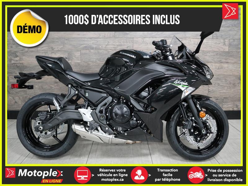 2020 Kawasaki NINJA 650 ABS DEMO – 225 KM - 26$/SEMAINE