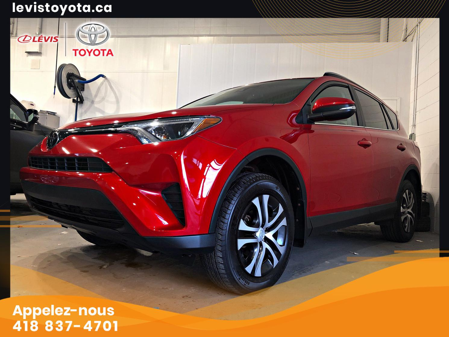 Toyota RAV4 LE FWD GROUPE COMMODITER 2017