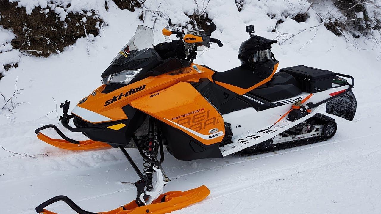 Ski-Doo RENEGADE X 850 ETEC 2017