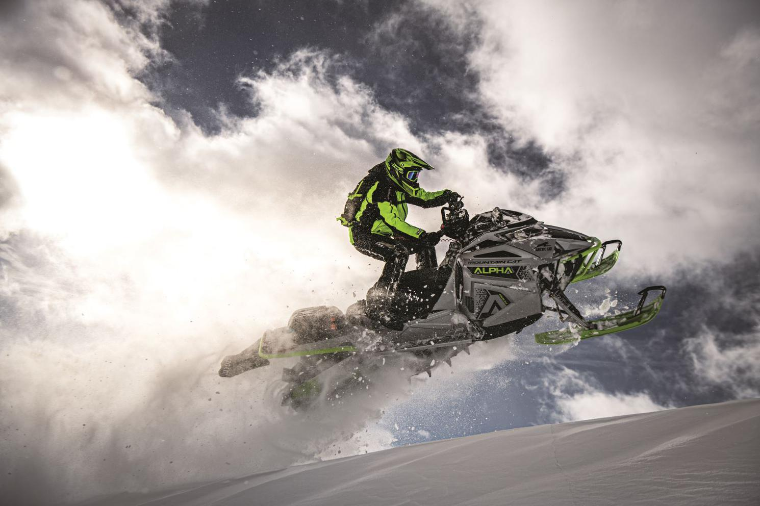Arctic Cat M8000 Mountain Cat 154 - Alpha One ES * DÉMO * 2020