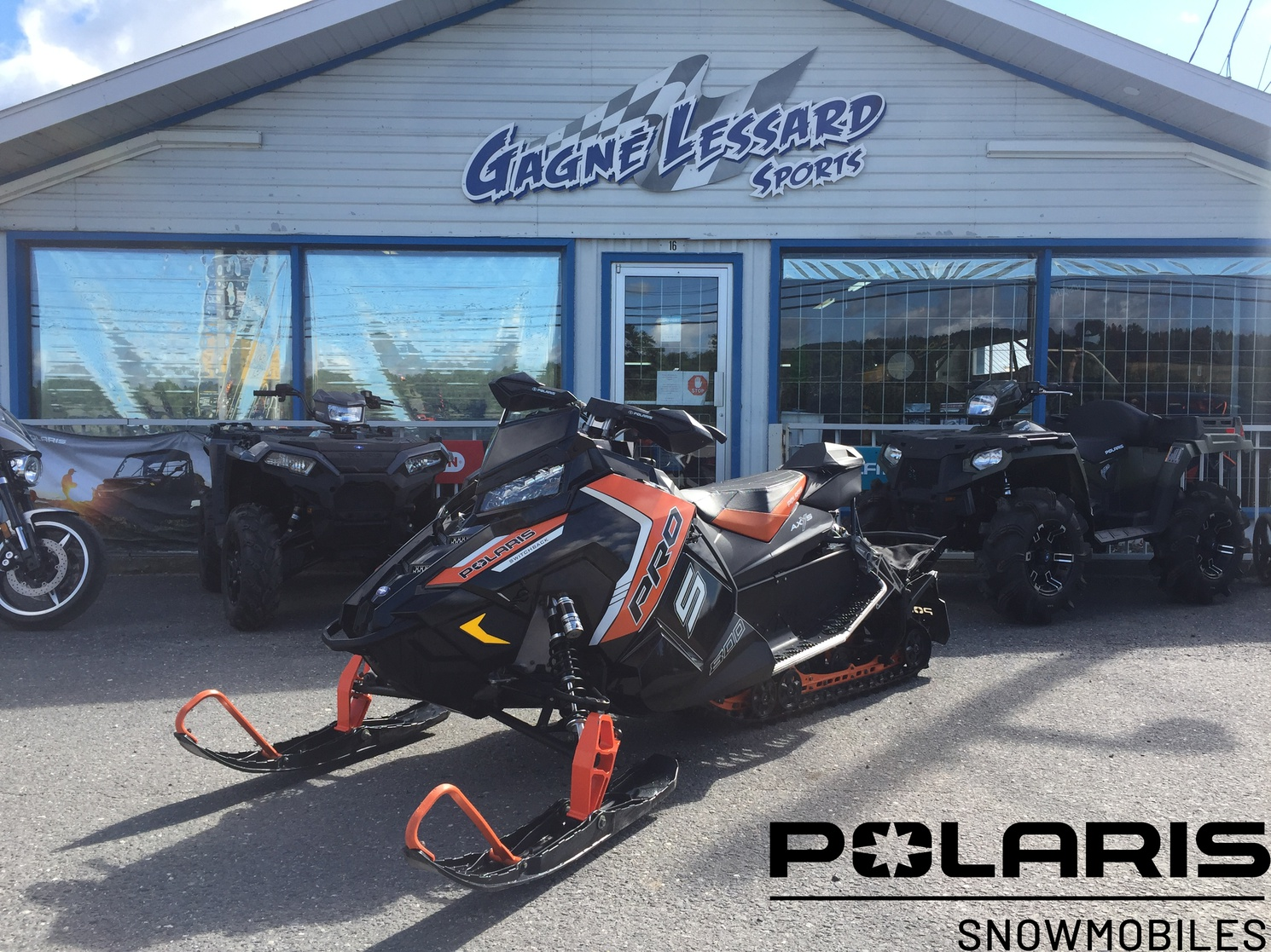 Polaris SWITCHBACK PRO S 800 2016