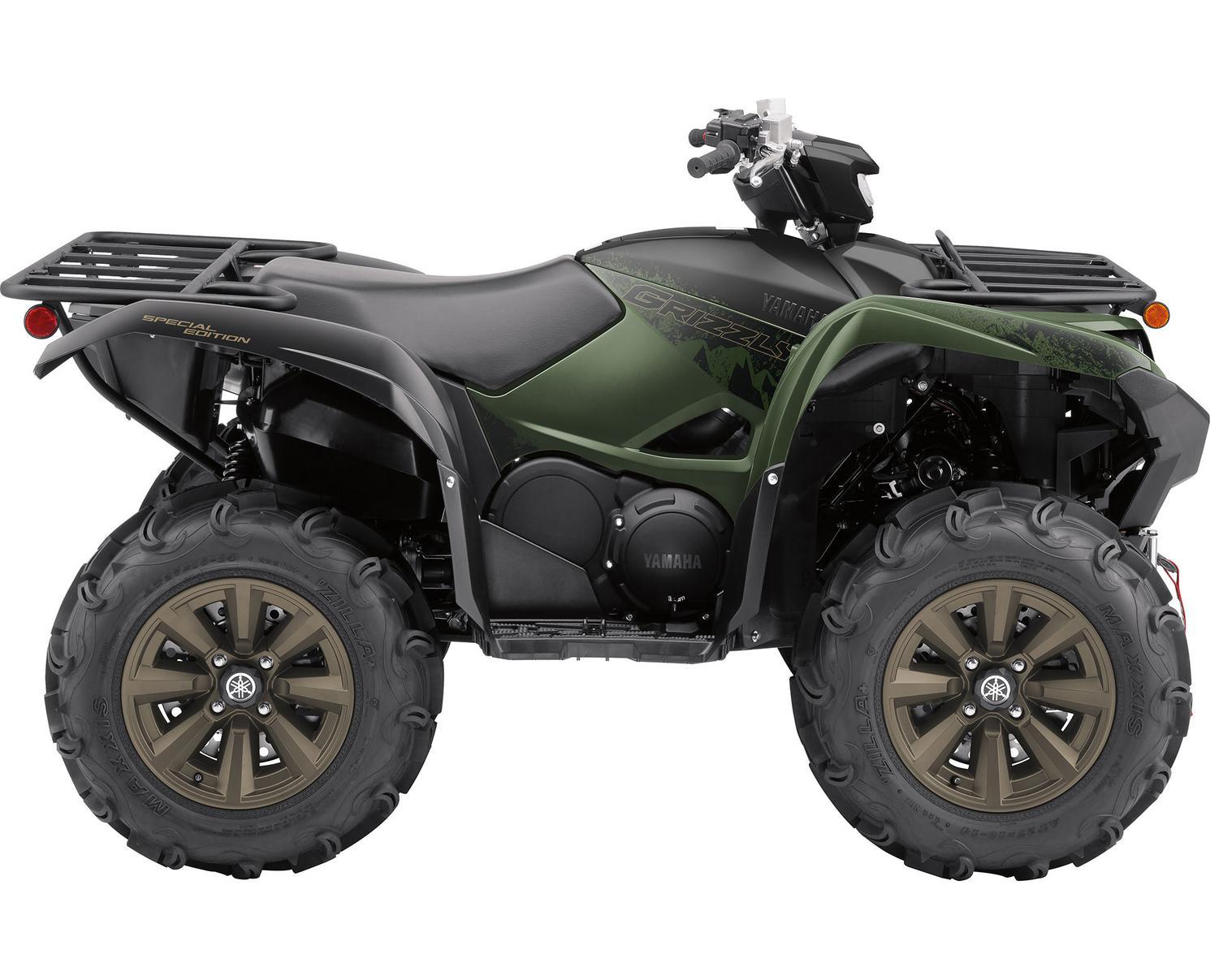 2021 Yamaha Grizzly 700 DAE SE Frais inclus+Taxes