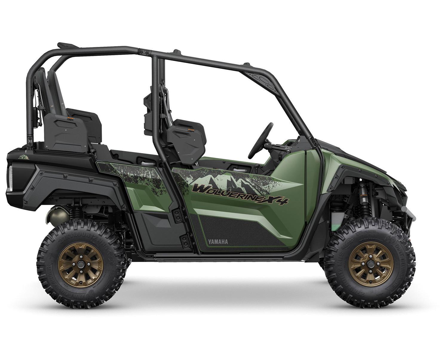 2021 Yamaha Wolverine X4 850 DAE SE