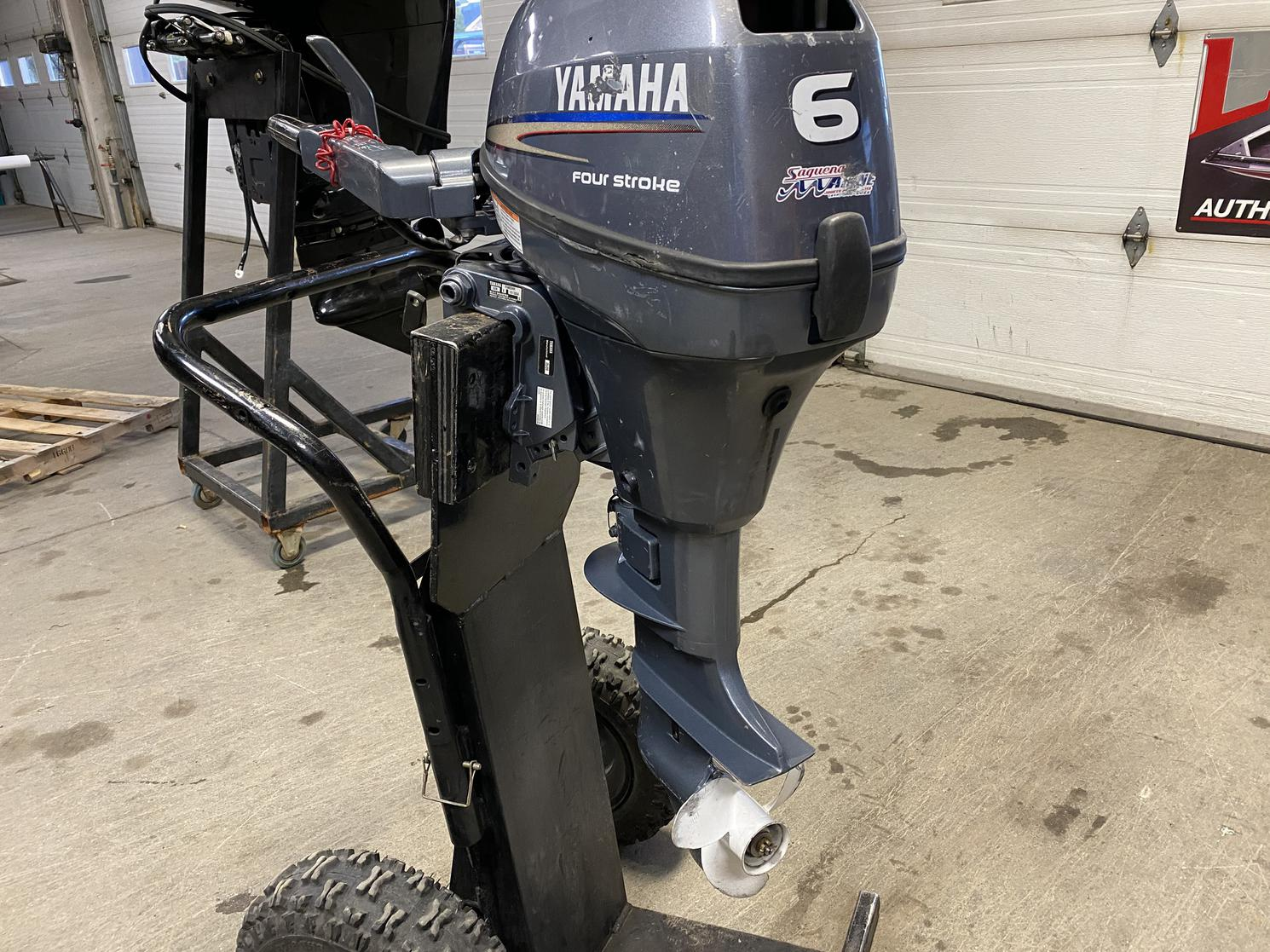 2009 Yamaha F6 mshh 6 hp