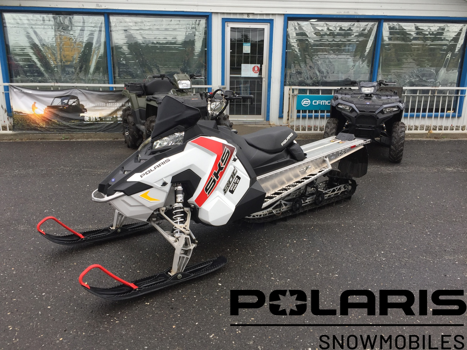 Polaris 800 SKS 155 ES 2.4'' 2017