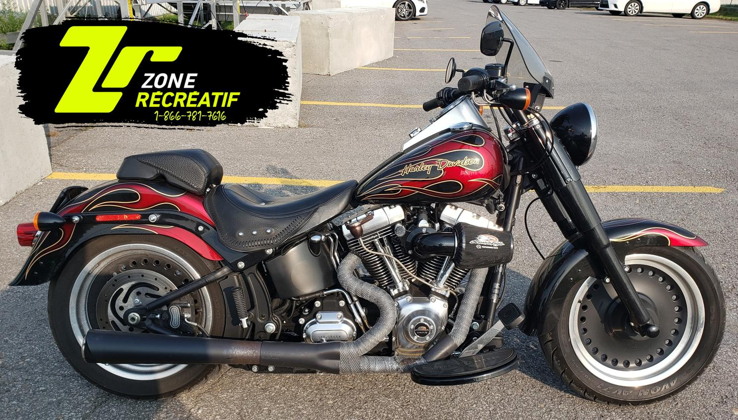 Harley-Davidson FLSTF 120R 2014 - Fat Boy