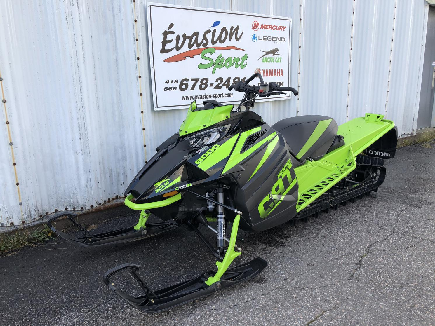 190662A Arctic Cat M8000 Mountain Cat ES 162 2018