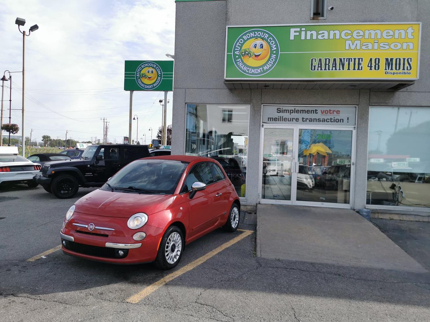 2015 FIAT 500c LOUNGE  CONVERTIBLE                                      48$/SEMAINE