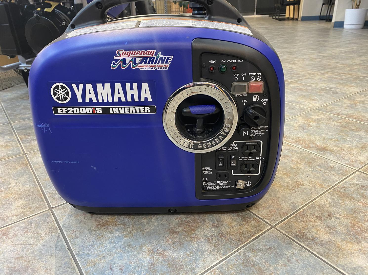 2018 Yamaha EF2000IS Inverter 2000 WATTS