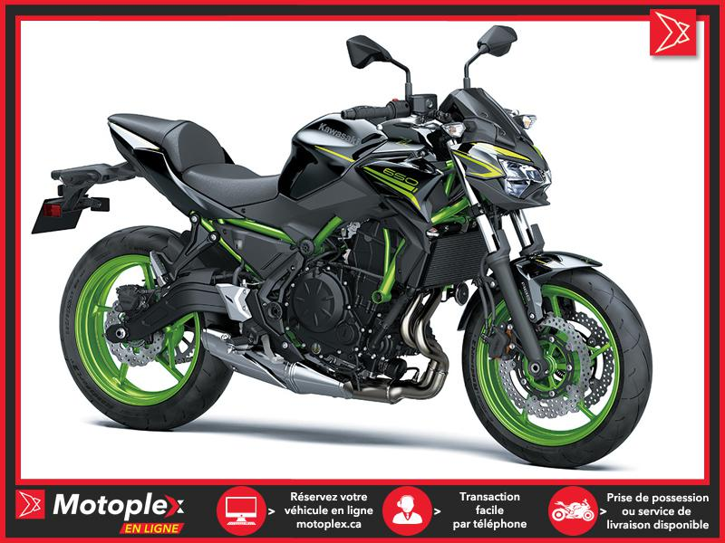 KW2114N Kawasaki Z650 ABS SE (ÉDITION SPÉCIALE) 2021 2021