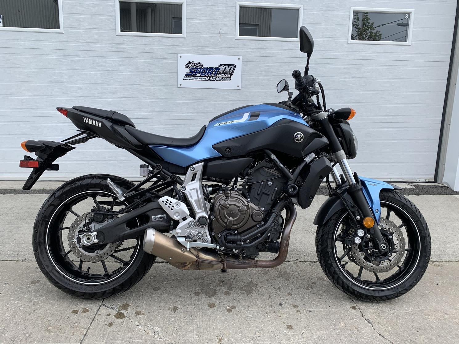 2017 Yamaha FZ07