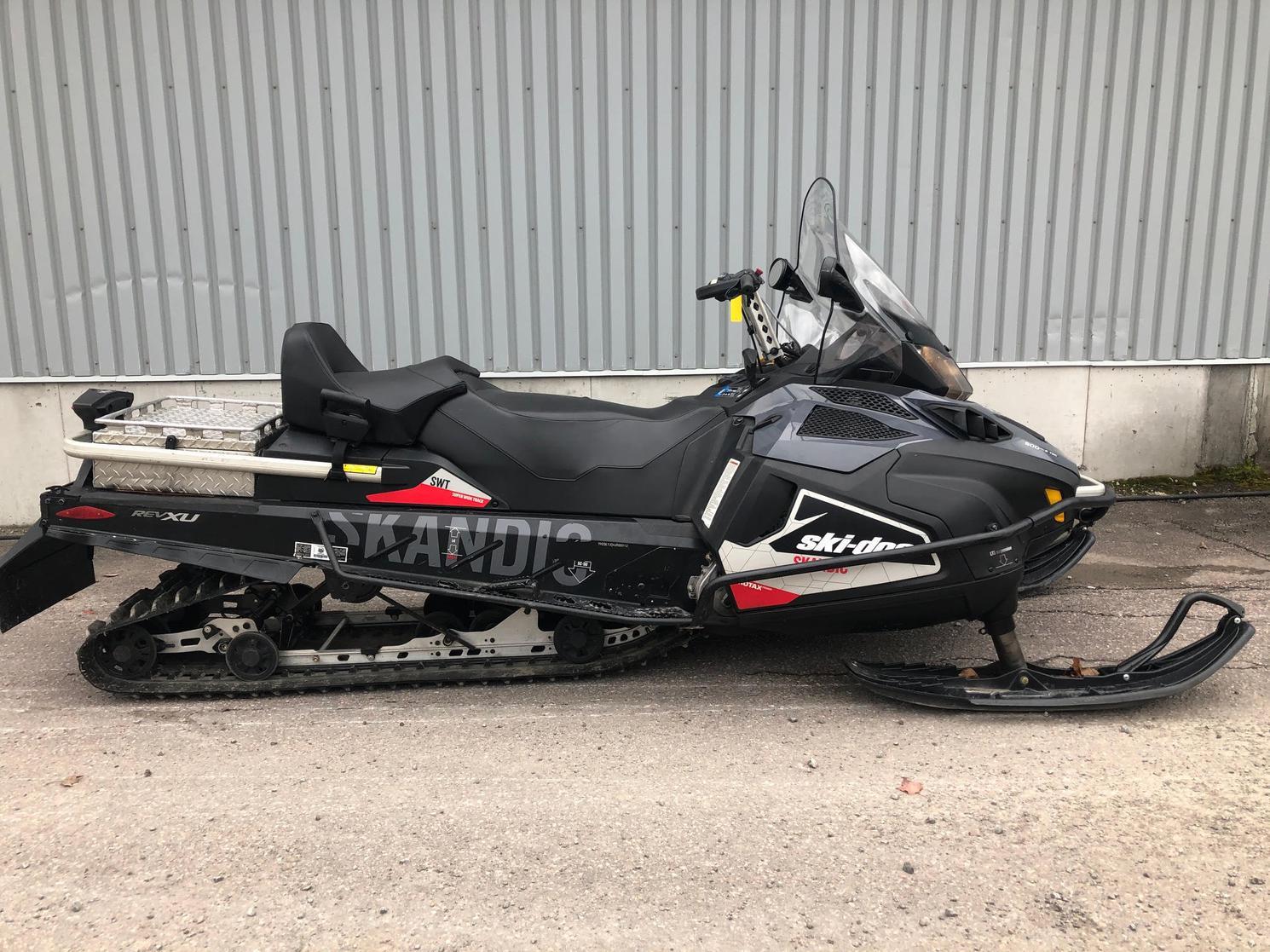 2018 Ski-Doo SKANDIC SWT 600 ETEC