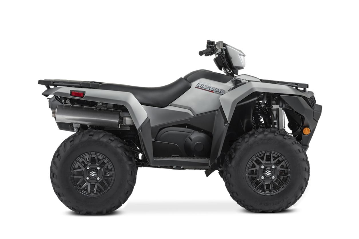 2021 Suzuki KingQuad LT-A500XPZS direction assistée roues en alliages. Frais inclus+Taxes