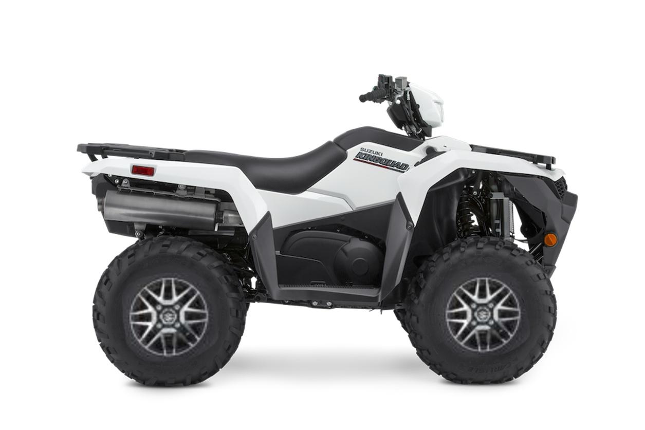 2021 Suzuki KingQuad LT-A500XPZ direction assistée roues en alliages. Frais inclus+Taxes