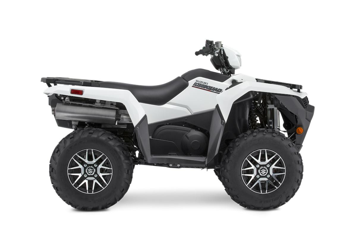 2021 Suzuki KingQuad LT-A750XPZS direction assistée roues en alliages. Frais inclus+Taxes