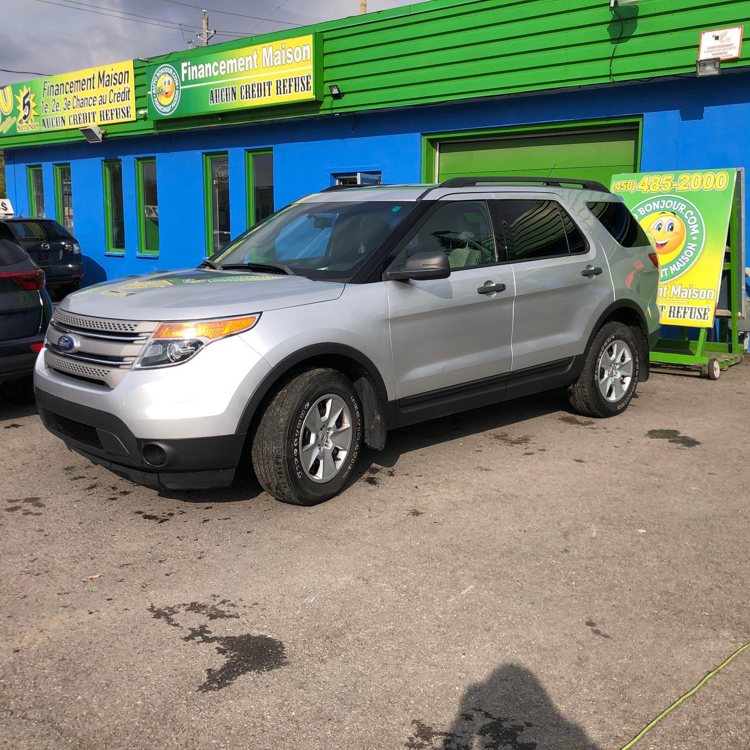 2012 Ford Explorer 7 PASSAGERS
