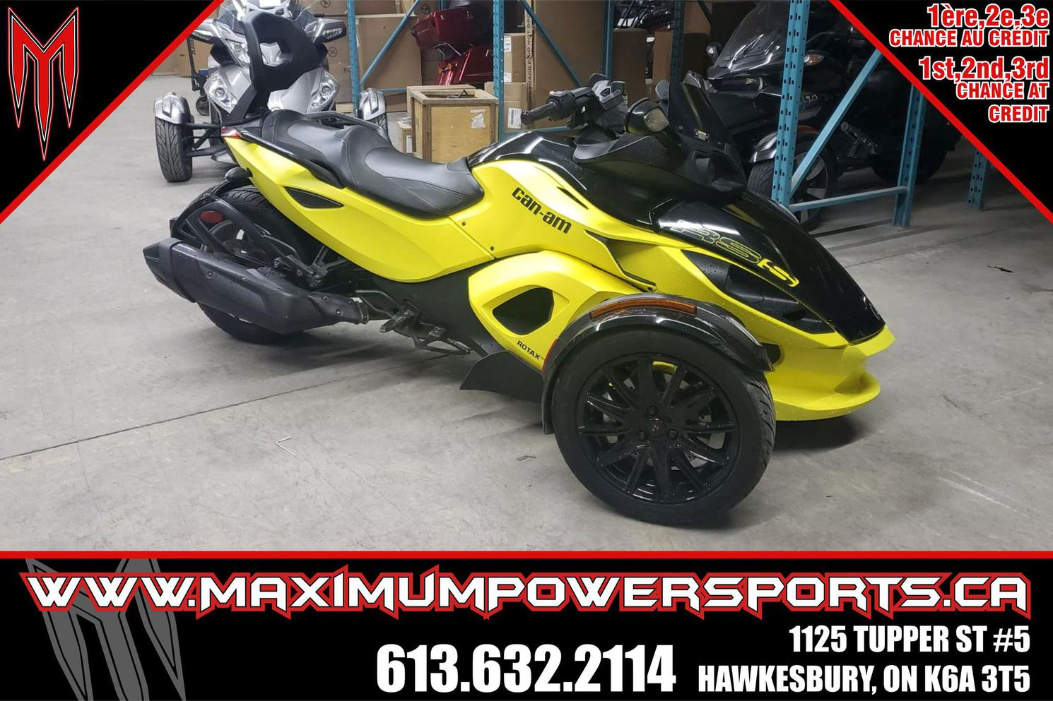 2014 Can-Am SPYDER RS S