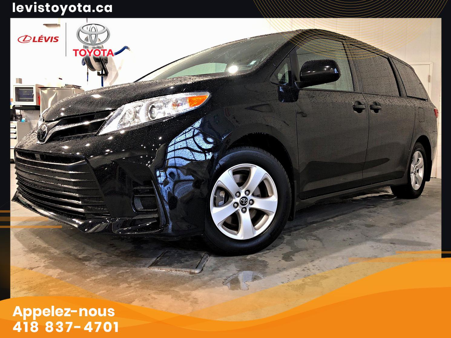 Toyota Sienna LE 8 PASSAGERS 2019