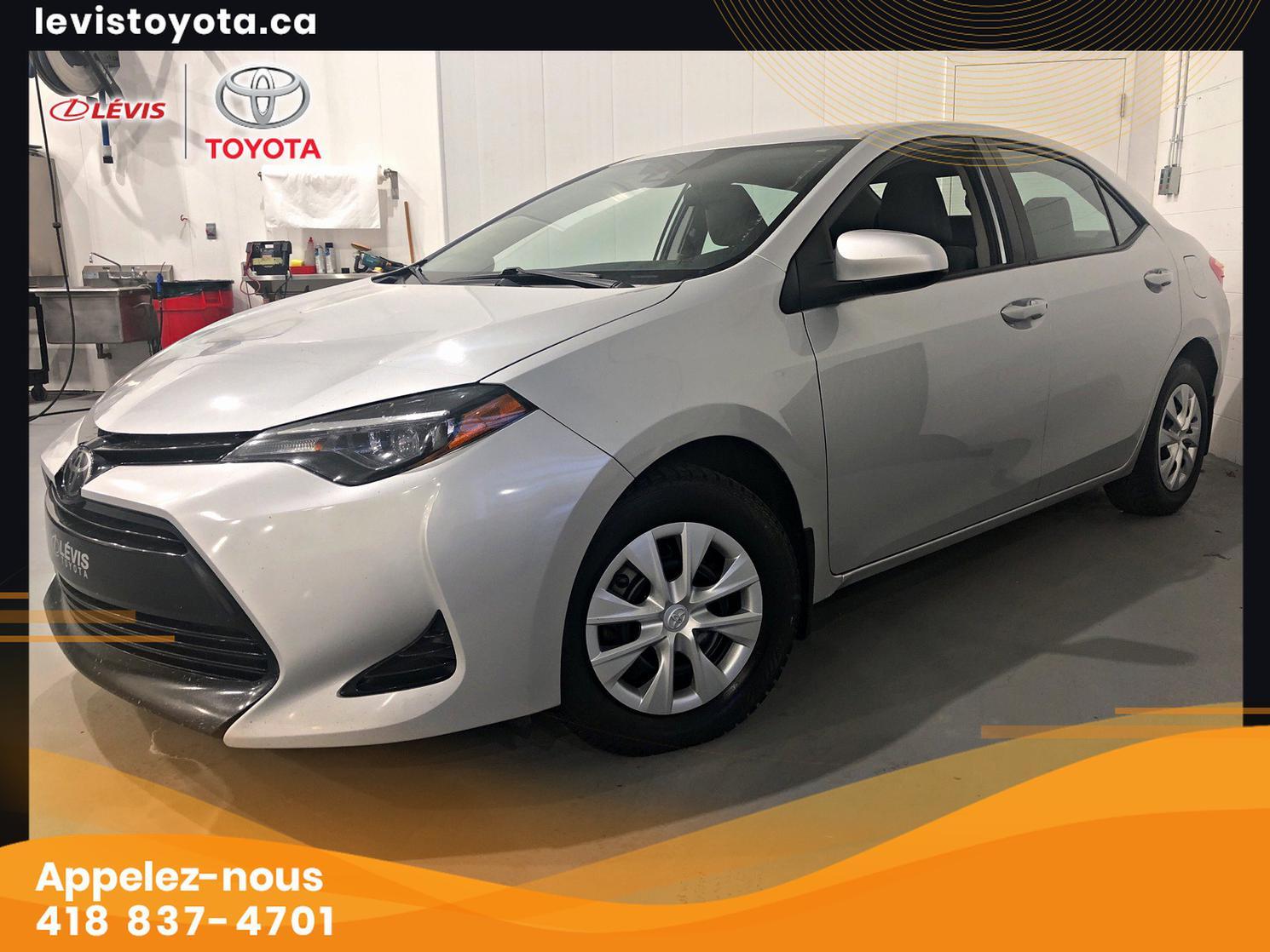 Toyota Corolla CE MANUELLE 2018