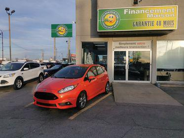 Ford Fiesta st interieur rouge woh !!!!! 2015