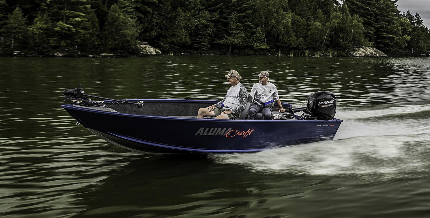2021 Alumacraft boat for sale, model of the boat is Alumacraft Escape 165 CS & Image # 3 of 4