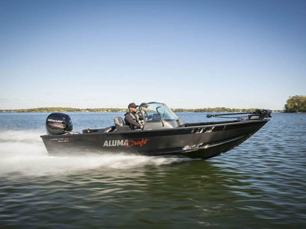 2021 Alumacraft boat for sale, model of the boat is Alumacraft Competitor Shadow 205 Sport & Image # 8 of 8