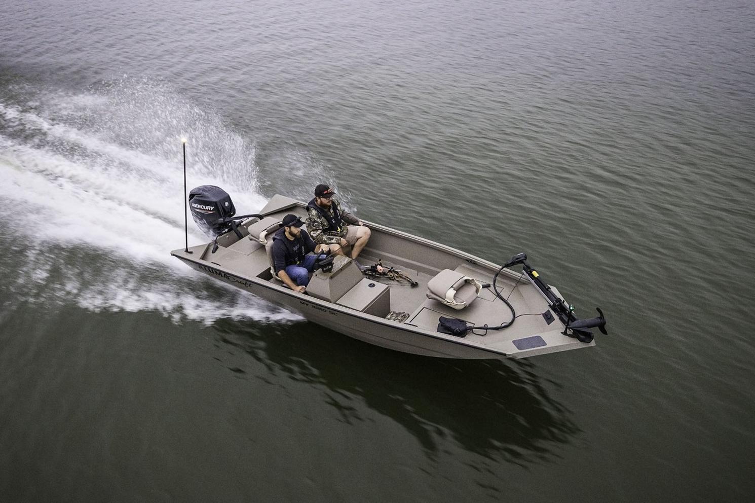 2021 Alumacraft boat for sale, model of the boat is Alumacraft All Weld MV Series MV1860 AW SC & Image # 8 of 10