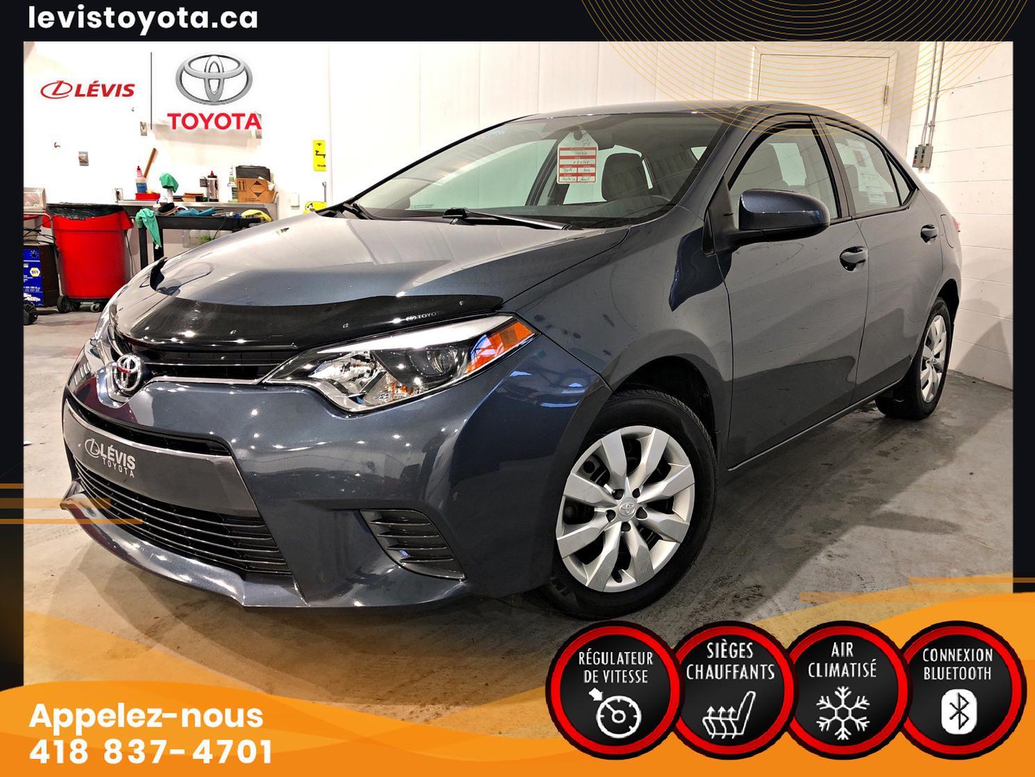 Toyota Corolla LE AUT A/C 2016