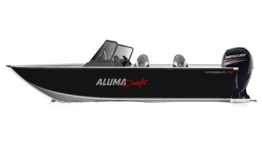 2021 Alumacraft boat for sale, model of the boat is Alumacraft Voyageur 175 Sport SPORT & DUAL CONSOLE WINDSHIELD & Image # 5 of 5