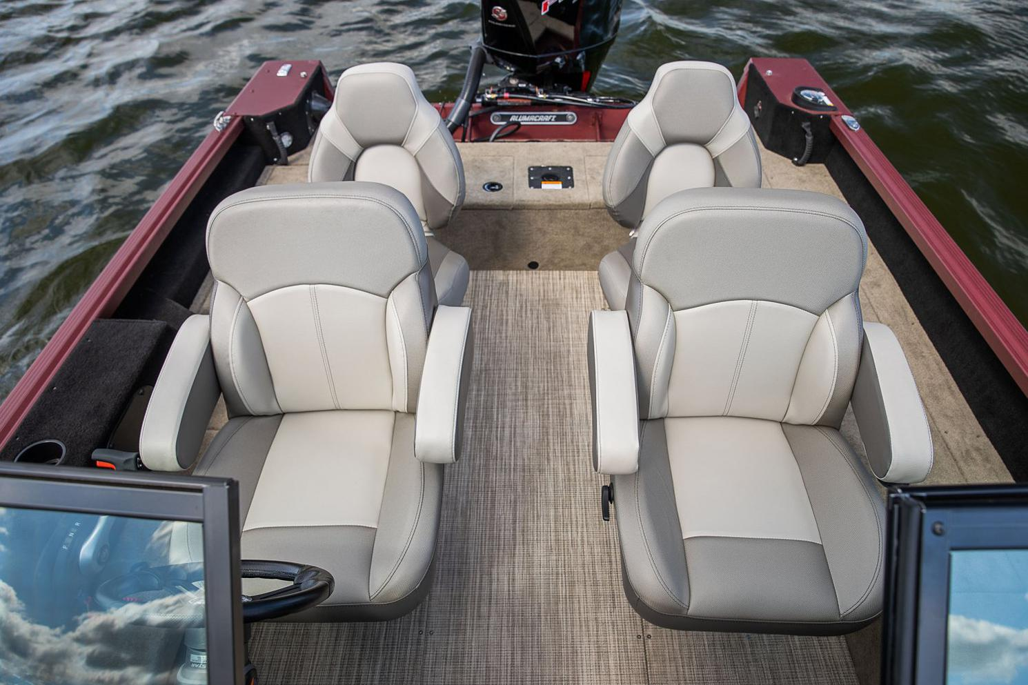 2021 Alumacraft boat for sale, model of the boat is Alumacraft Competitor 205 Sport & Image # 6 of 8