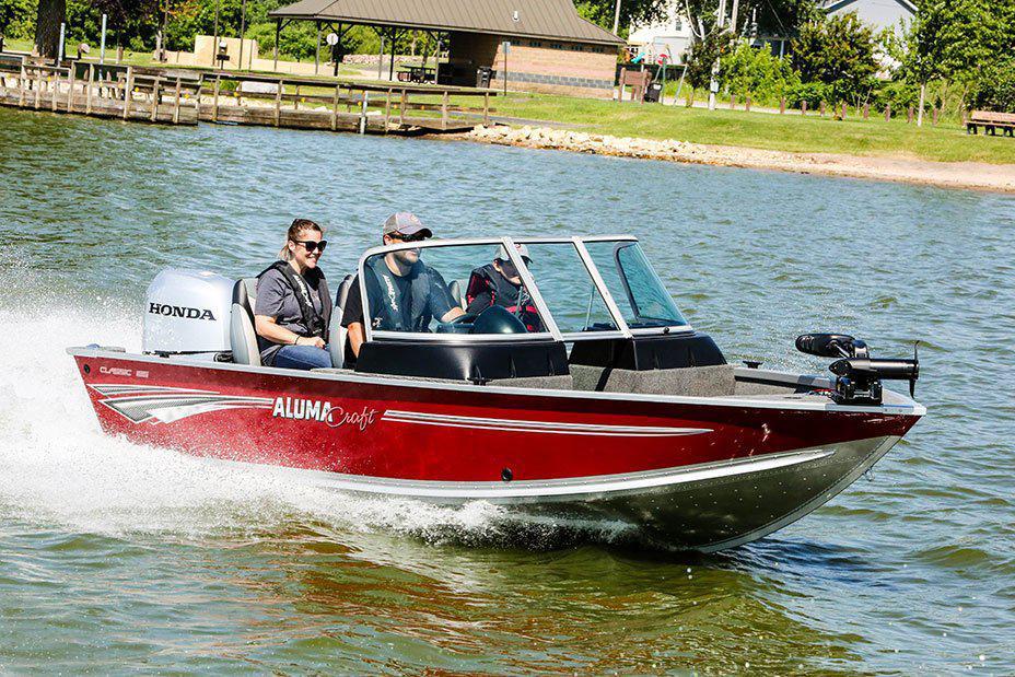 2021 Alumacraft boat for sale, model of the boat is Alumacraft Classic 165 Sport & Image # 6 of 6