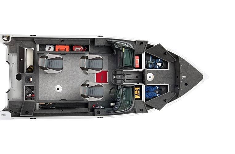 2021 Alumacraft boat for sale, model of the boat is Alumacraft Voyageur 175 Sport SPORT & DUAL CONSOLE WINDSHIELD & Image # 4 of 5