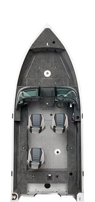 2021 Alumacraft boat for sale, model of the boat is Alumacraft Voyageur 175 Sport SPORT & DUAL CONSOLE WINDSHIELD & Image # 3 of 5