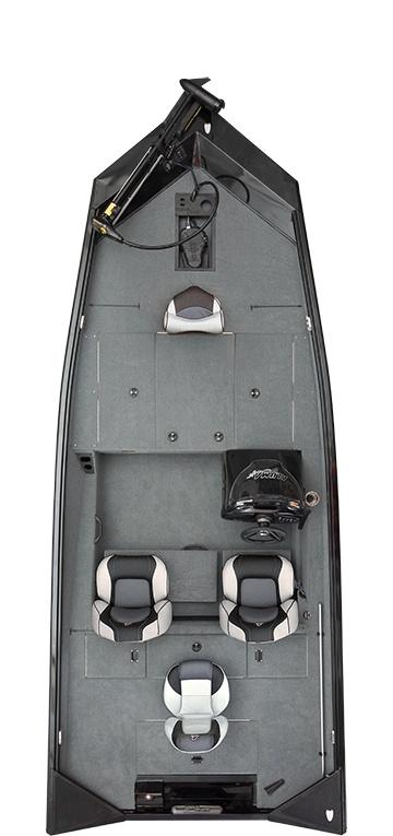 2021 Alumacraft boat for sale, model of the boat is Alumacraft Pro Series 185 & Image # 4 of 8