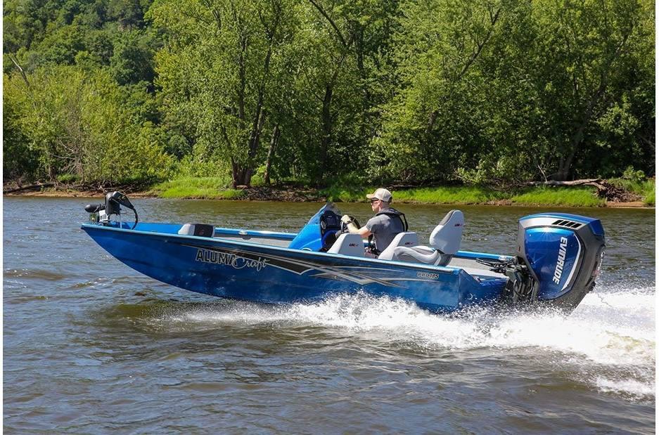 2021 Alumacraft boat for sale, model of the boat is Alumacraft Pro Series 185 & Image # 6 of 8