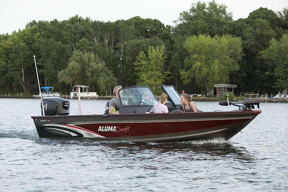 2021 Alumacraft boat for sale, model of the boat is Alumacraft Edge 185 Sport & Image # 4 of 5
