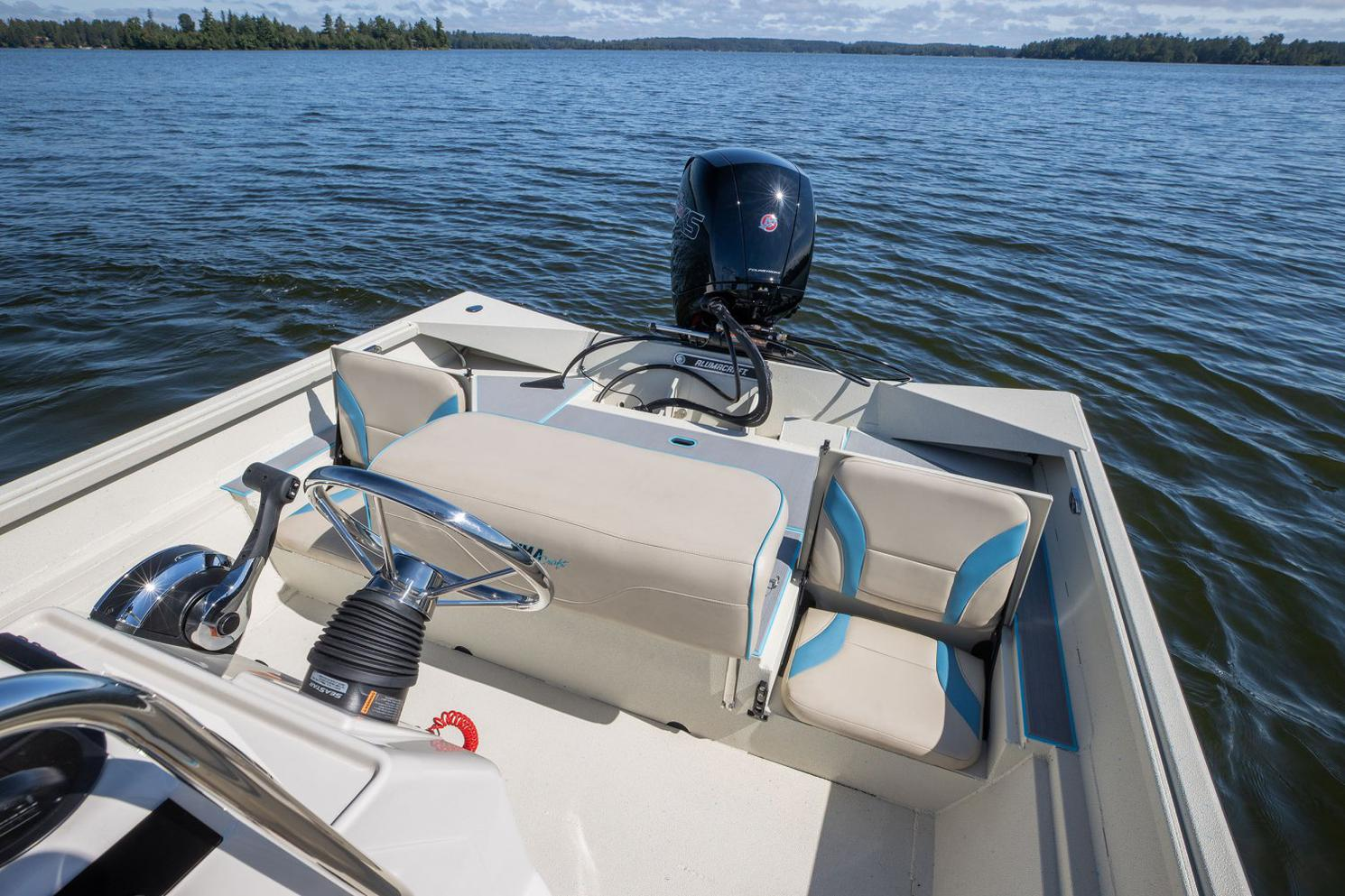 2022 Alumacraft boat for sale, model of the boat is Alumacraft 20 BAY & Image # 6 of 10