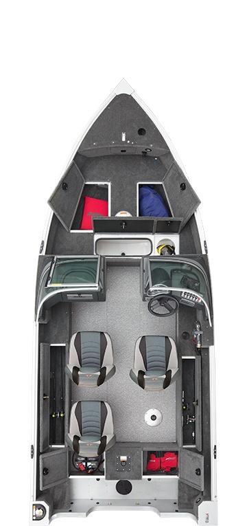 2021 Alumacraft boat for sale, model of the boat is Alumacraft Classic 165 Sport & Image # 4 of 6