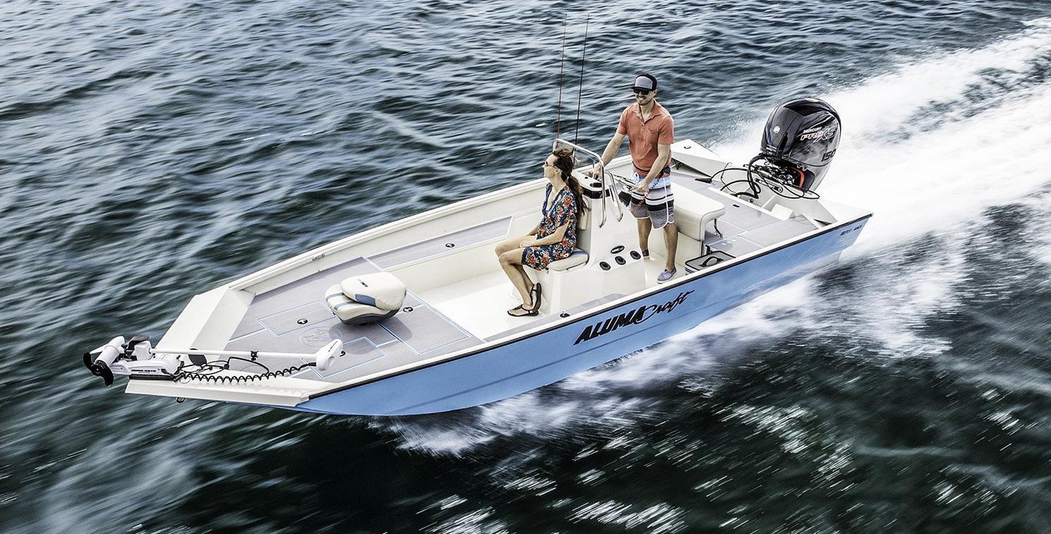 2022 Alumacraft boat for sale, model of the boat is Alumacraft 20 BAY & Image # 3 of 10