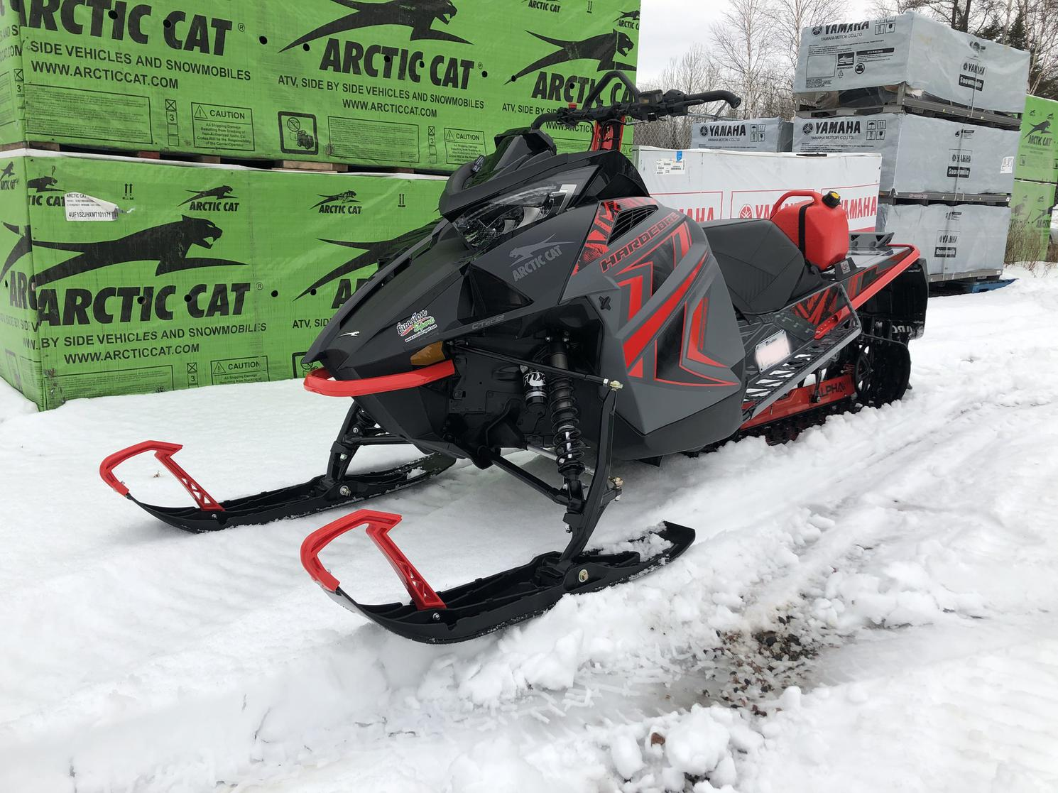 2020 Arctic Cat M8000 MC Hardcore 154 Alpha One HC