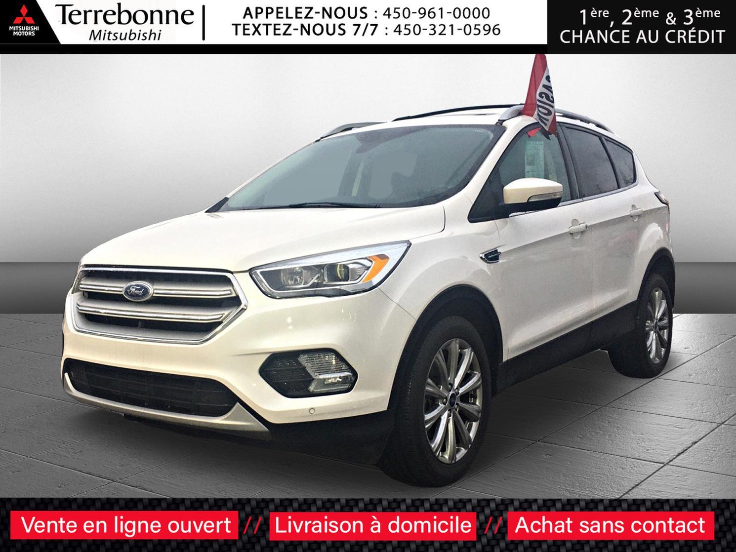 2018 Ford Escape TITANIUM**4X4**2.0TURBO**CUIR/GPS/TOIT OUVRANT**