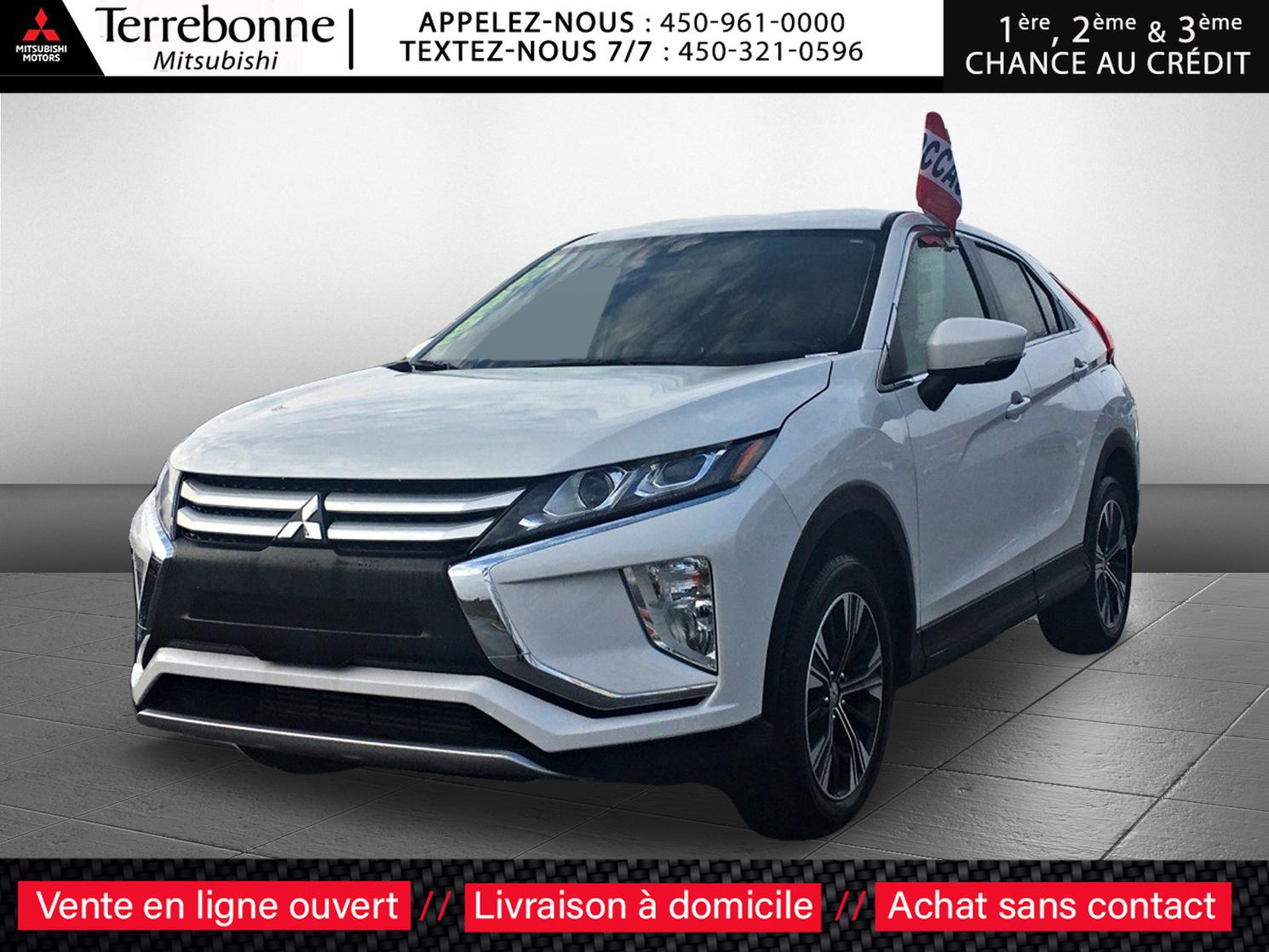 "Mitsubishi Eclipse Cross ES**4X4**TURBO**MAGS 18""**LIQUIDATION 2020** 2020"