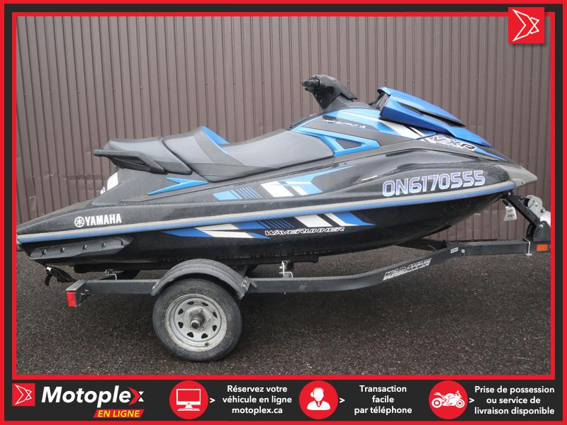 U4760 Yamaha WAVERUNNER VXR 1800 3 PLACES !!! 2018