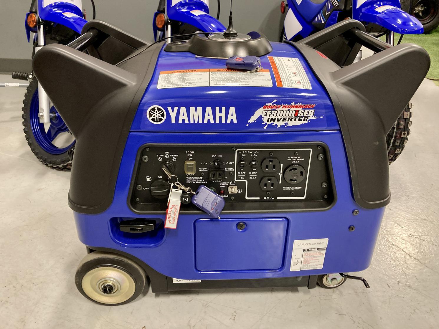 Yamaha génératrice EF3000 iSEB - Inventeur ultra silencieux 2019