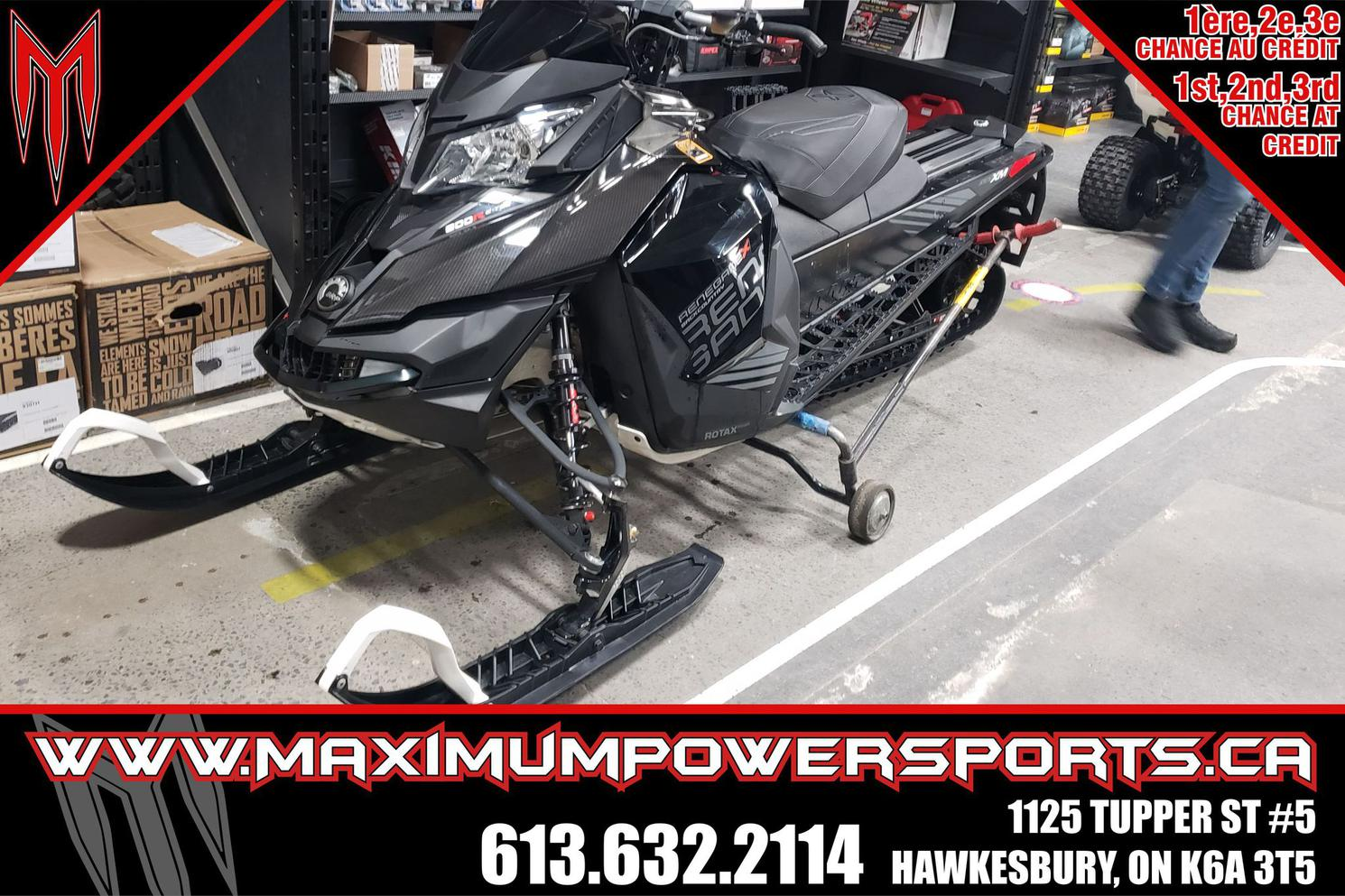 2017 Ski-Doo RENEGADE 800 BACKCOUNTRY X E-TEC (REV-XM) R* RENEGADE 800 BACKCOUNTRY X E-TEC (REV-XM) R*