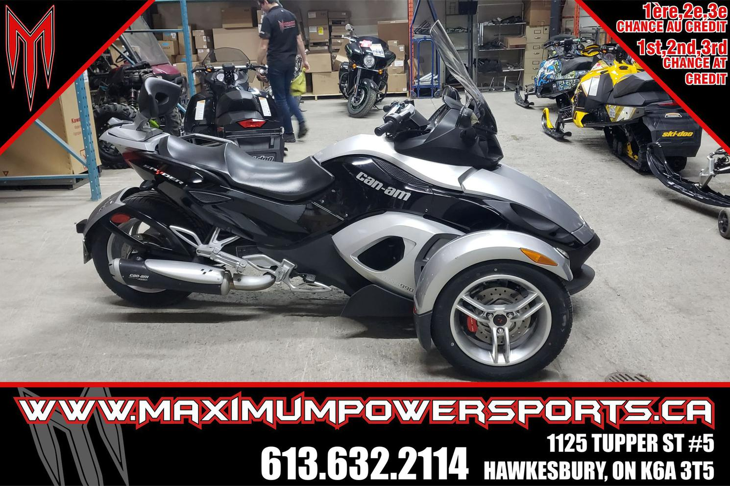 2013 Can-Am SPYDER SPYDER