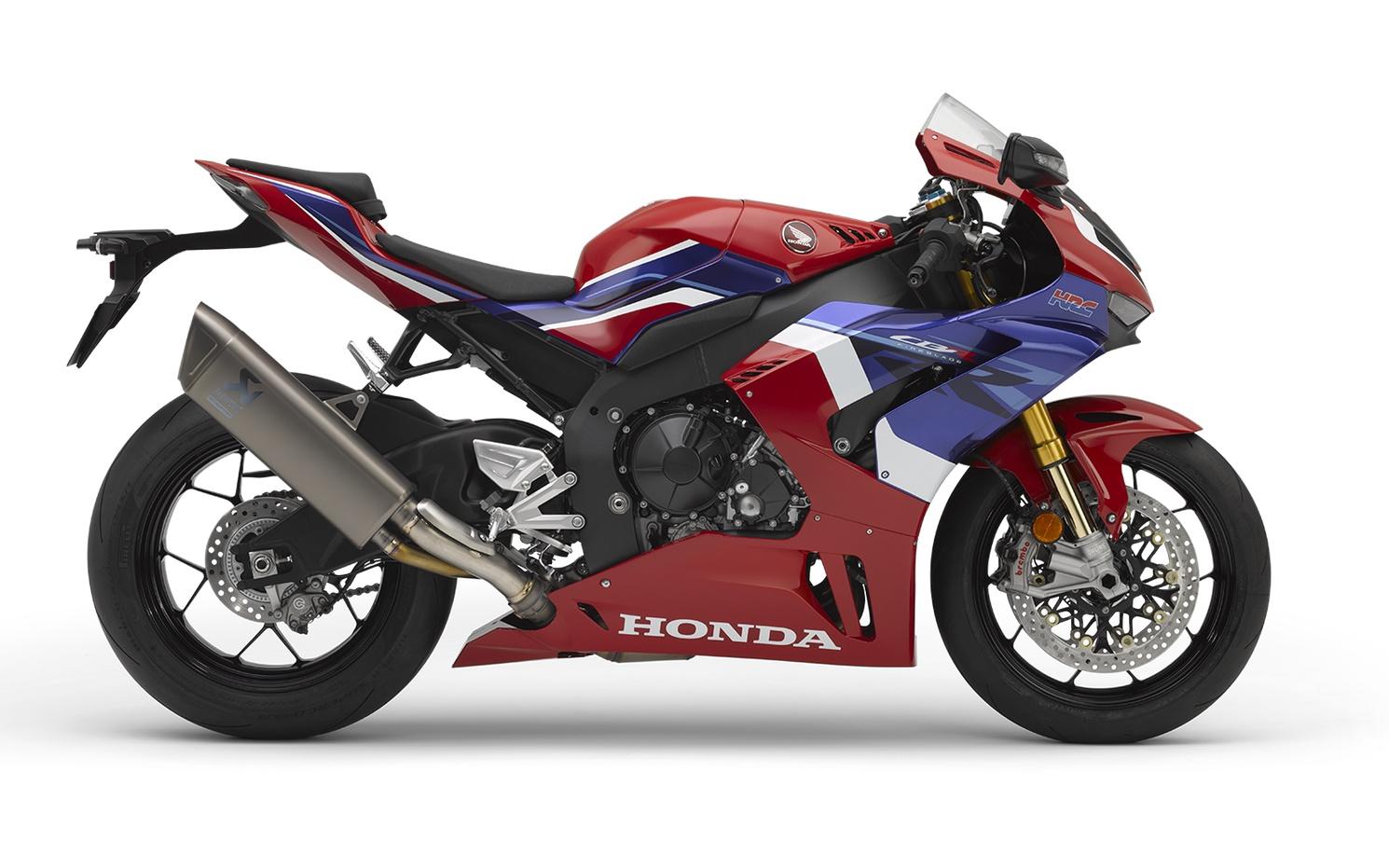 2021 Honda CBR1000RR-R FIREBLADE SP Ohlins, Brembo, Akropavic. Frais inclus+Taxes