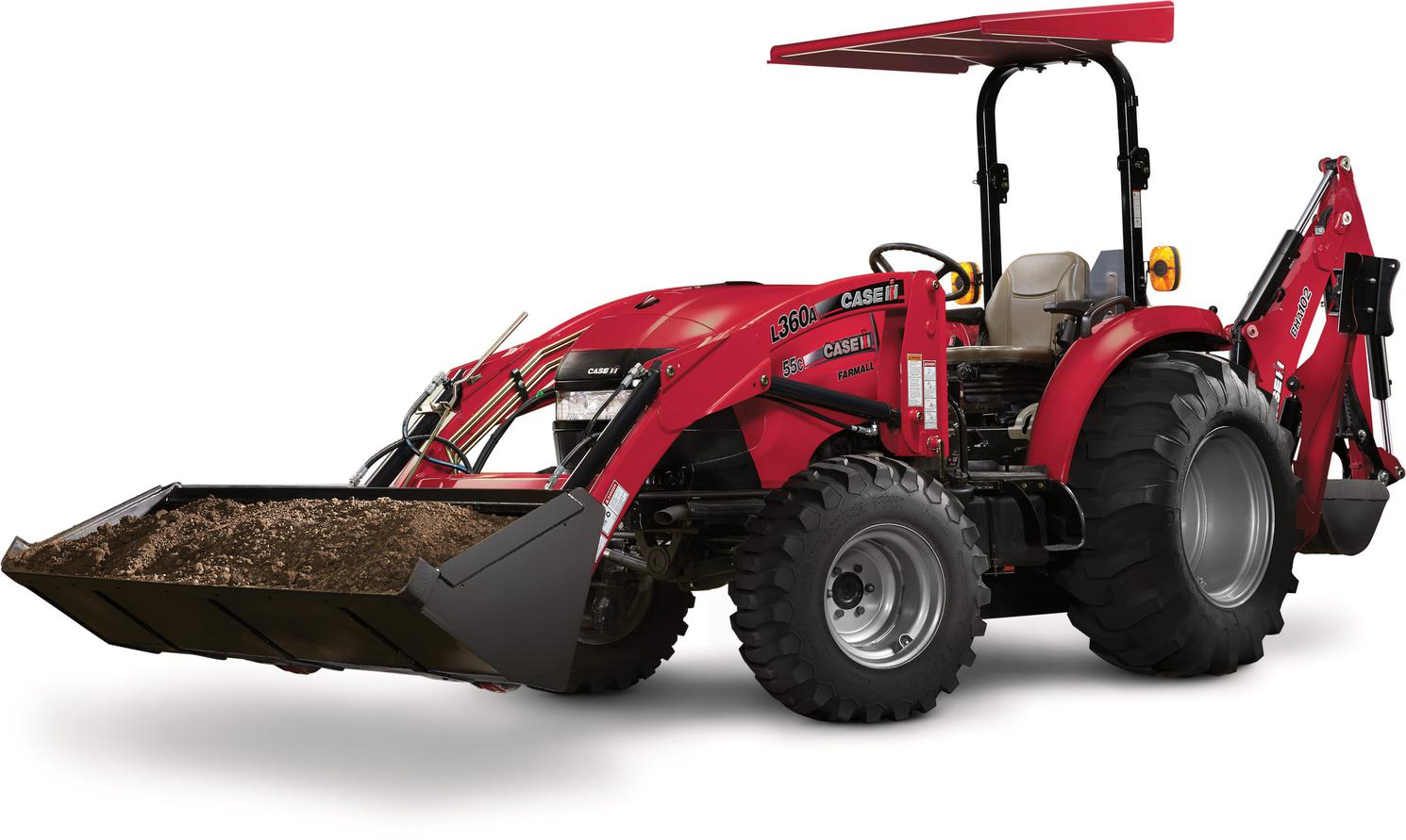 Case IH Backhoes