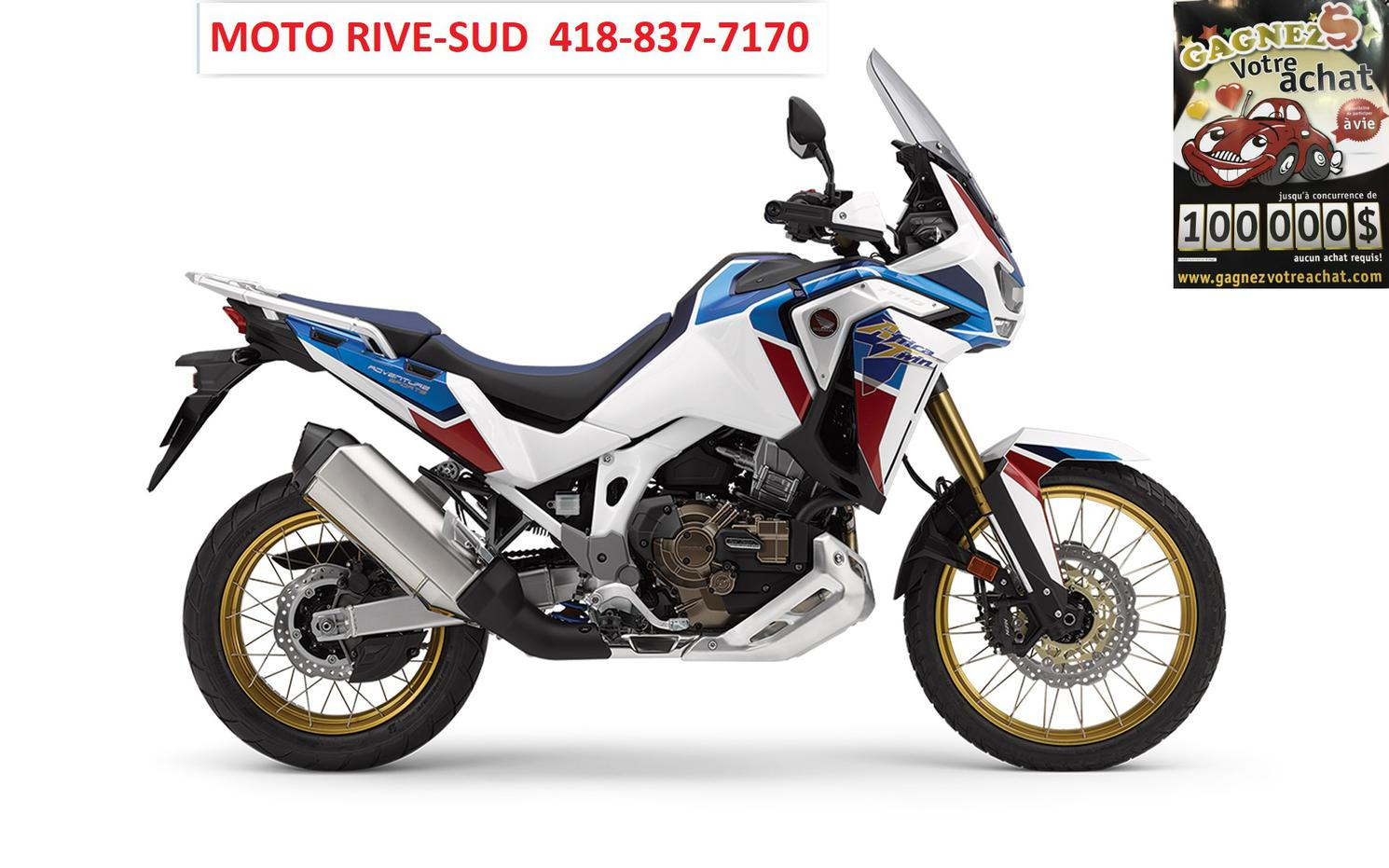 Honda AFRICA TWIN 1100 ES - DOUBLE USAGE 2021